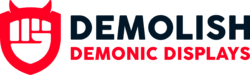 Demolish Demonic Displays Logo