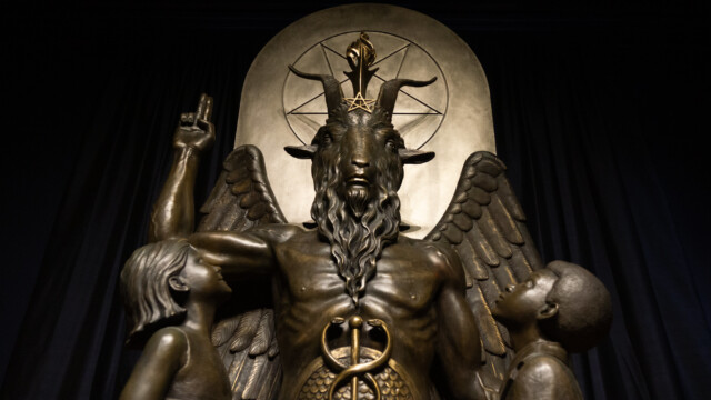 Ban the Public Display of The Satanic Temple's Baphomet Statue