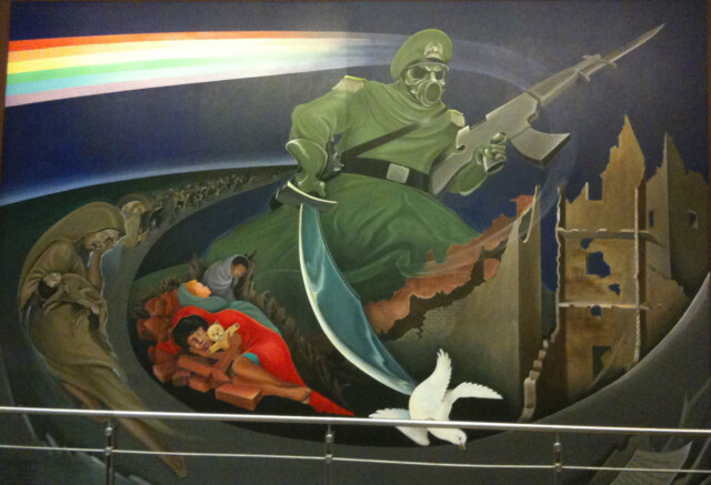 Tanguma's The Children of the World Dream of Peace, Denver Int'l Airport