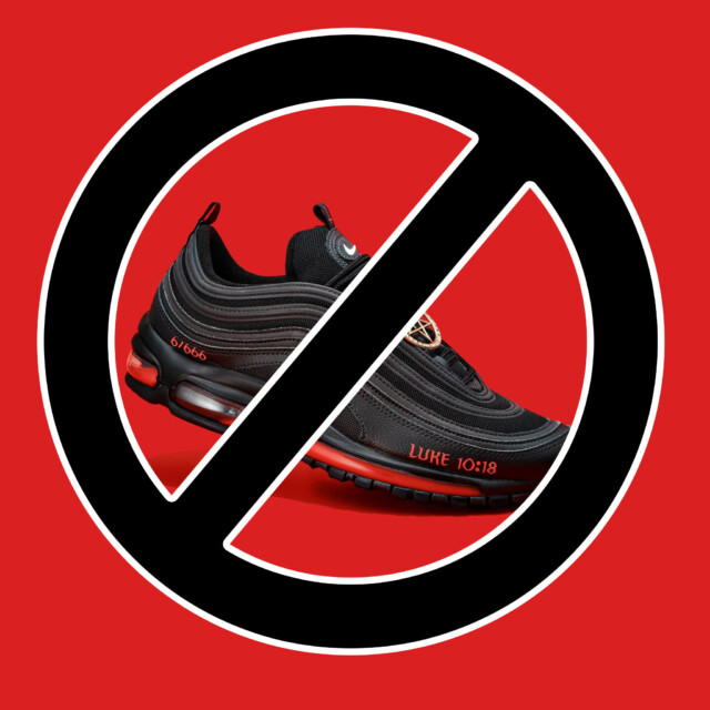 Stop the Promotion of Satan Shoes Containing Human Blood